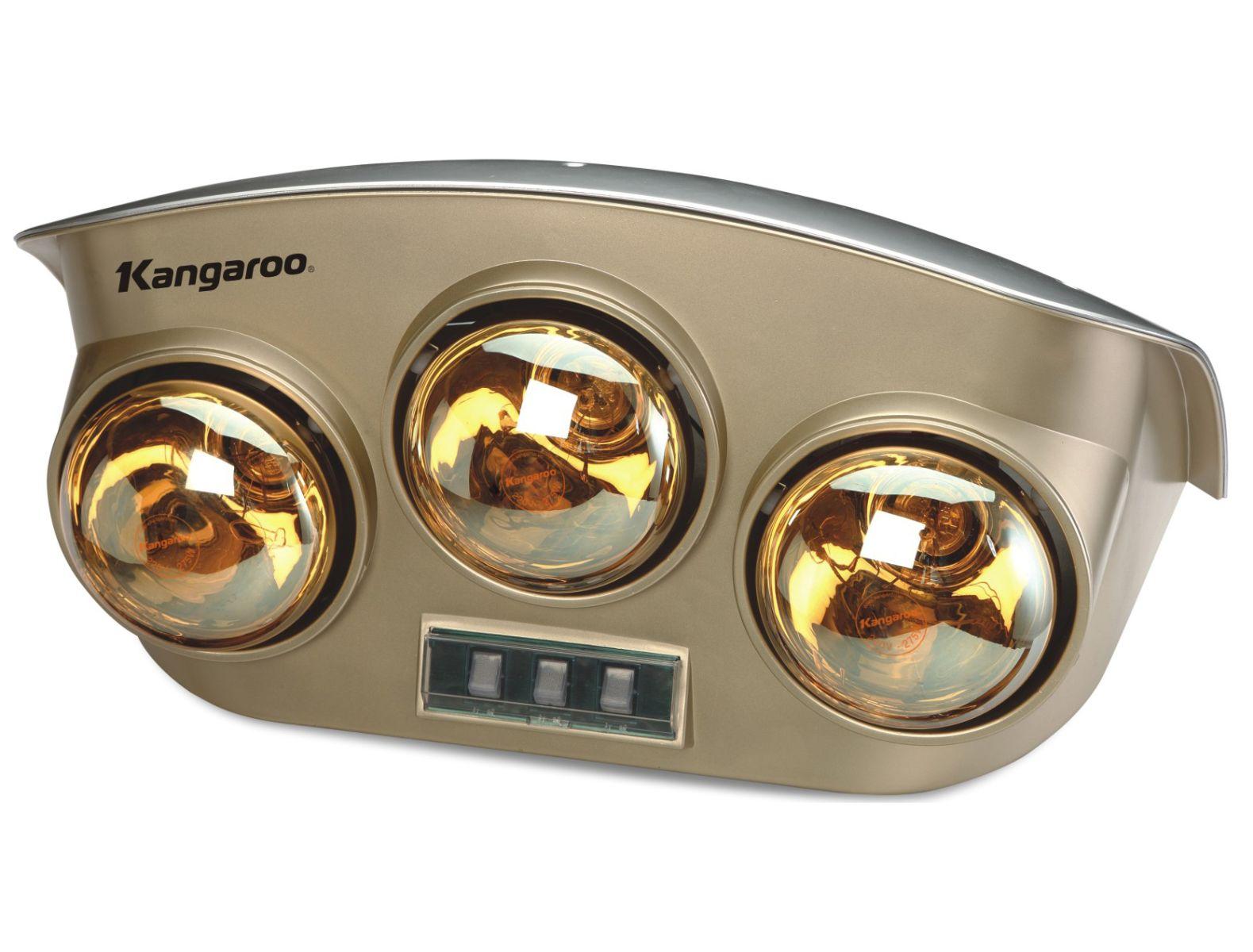 Đèn sưởi nhà tắm Kangaroo 3 bóng (KG251)