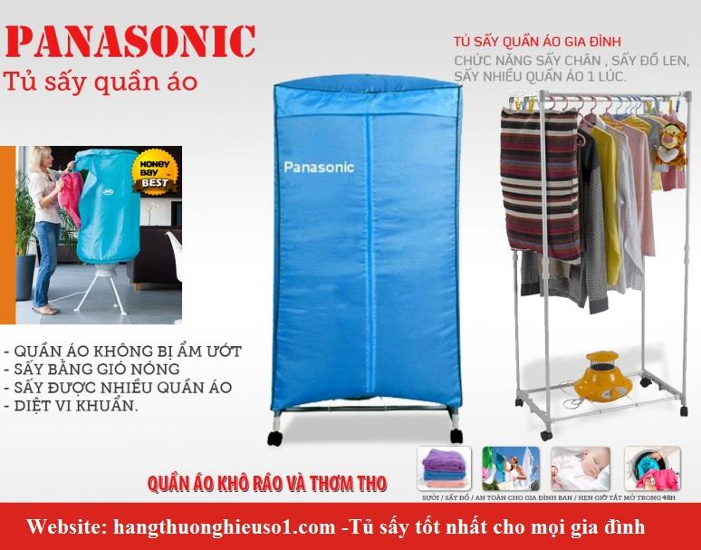 Máy sấy quần áo Panasonic 2 tầng mới