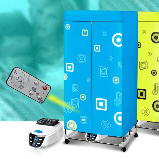 Tủ sấy quần áo Panasonic HD882F với khung Inox siêu bền có thể gấp gập nhỏ gọn