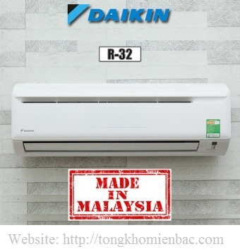 Điều hòa Daikin 12000BTU 1 chiều FTV35AXV1, Gas R32
