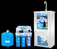 Máy lọc nước Karofi 8 cấp lọc bình áp thép đồng hồ áp (KD8)