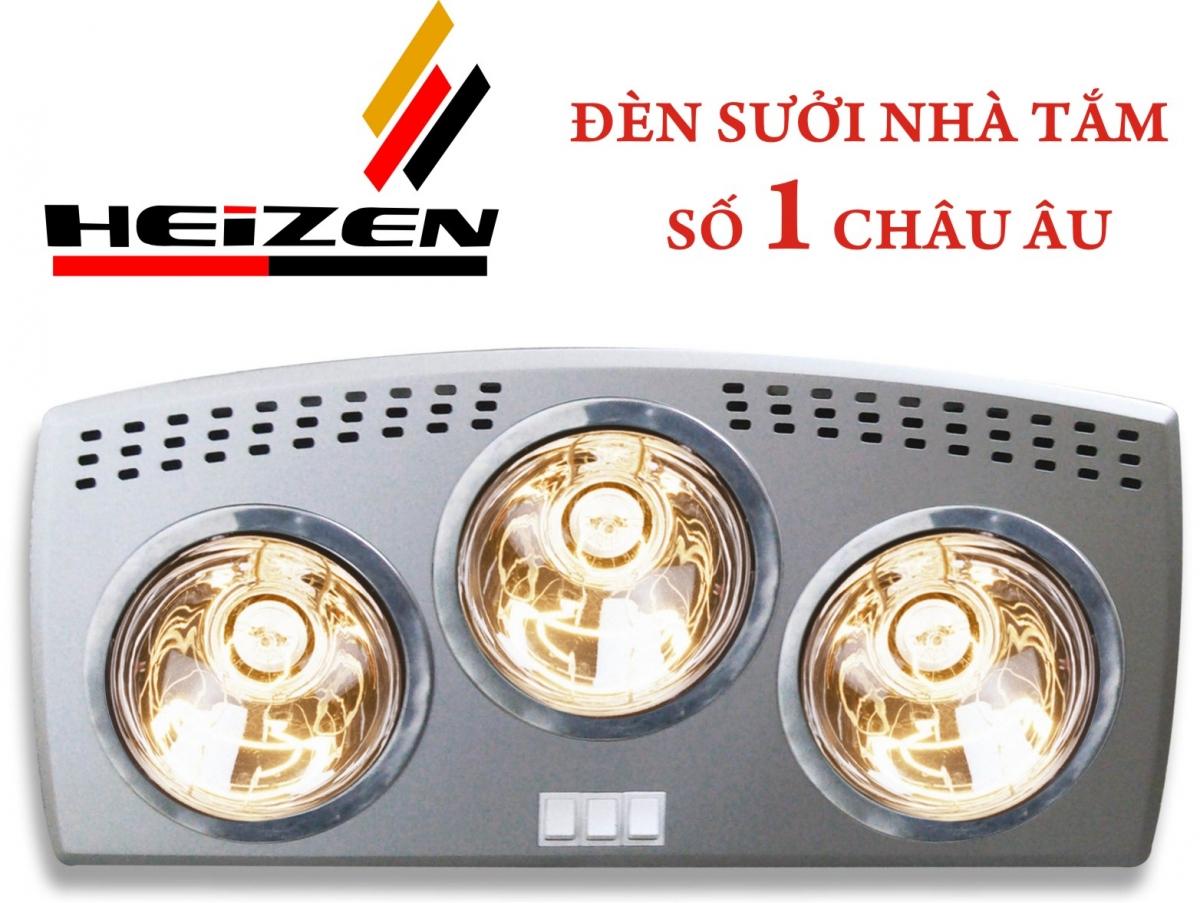 Đèn sưởi Heizen 3 bóng (HE3B176)