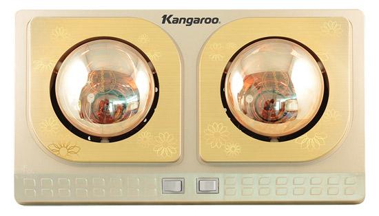 Đèn sưởi nhà tắm Kangaroo 2 bóng (KG248)