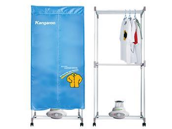 Máy sấy, tủ sấy quần áo kangaroo - KG332