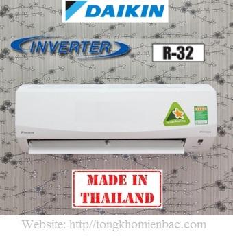 Điều hòa Daikin 1 chiều 9000BTU Inverter FTKC25PVMV, Gas R32