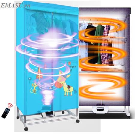 Tủ sấy khô quần áo Emasu Nhật Bản - ET306