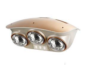 Đèn sưởi nhà tắm Hans 3 bóng bạc (H3B)