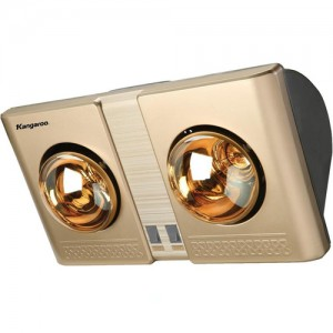Đèn sưởi nhà tắm Kangaroo 2 bóng (KG247)