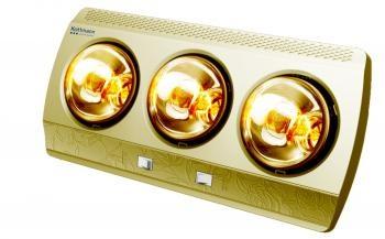 Đèn sưởi nhà tắm 3 bóng vàng Kottmann  (K3BG)