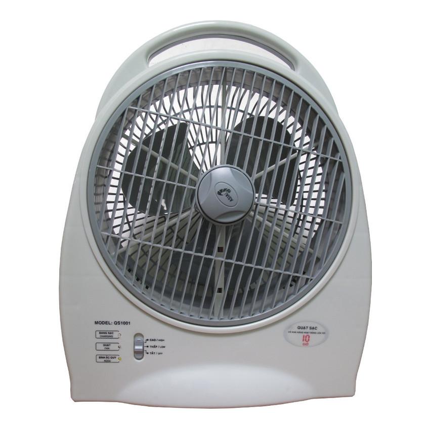 Quạt sạc điện 3 chức năng Asia QS1001