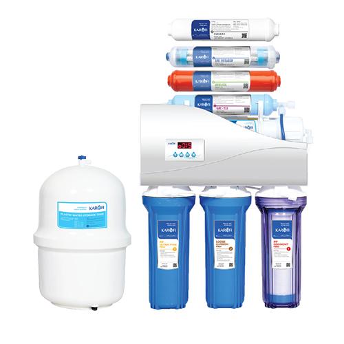Máy lọc nước thông minh Karofi tủ IQ 9 cấp lọc IRO 1.1 (K9I-1)
